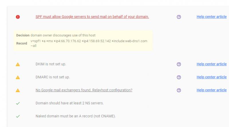 email-server-google-checker
